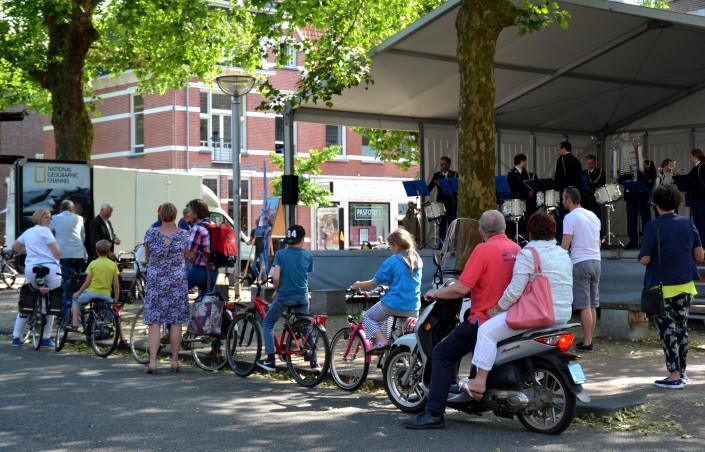 Fanfares en harmonieën op het Faberplein