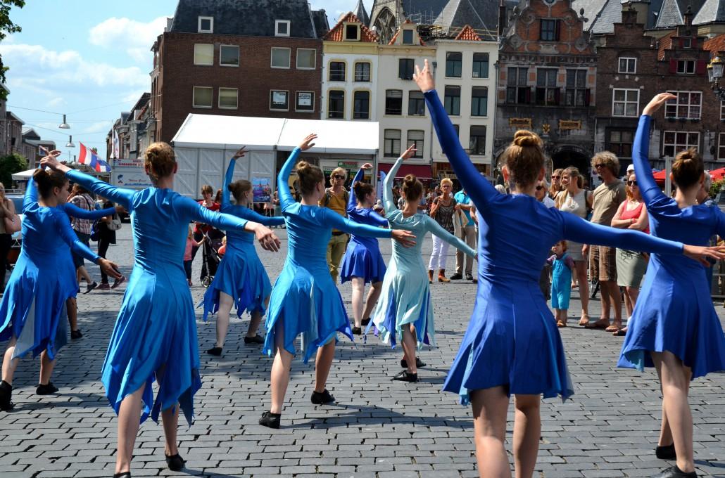 Dans op de Grote Markt